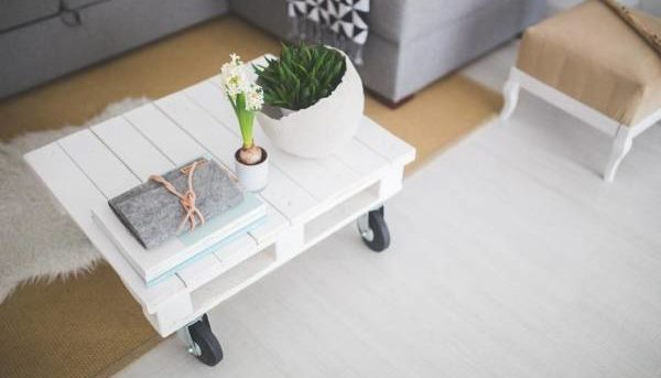 table basse roulettes