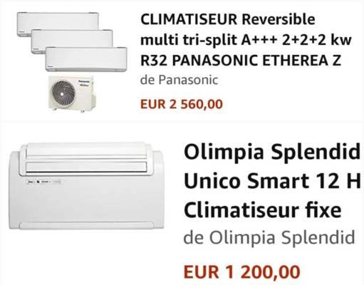 prix climatiseur
